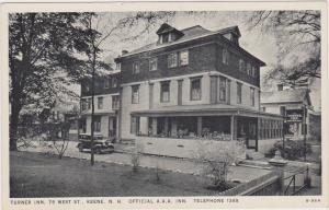 Turner Inn (Exterior), Official A.A.A. Inn, Keene, New Hampshire, 1900-1910s