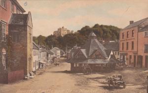SOMERSET, England , 00-10s; Dunster Castle & Yarn Market