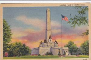 Lincoln Tomb, SPRINGFIELD, Illinois, 30-40´s