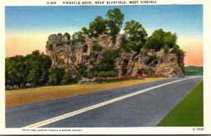 West Virginia Pinnacle Rock Near Bluefield