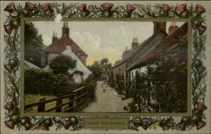 Dunblane Scotland Davidson Thistle Border Series c1910 Postcard #2