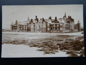 Wales Rhyl THE ROYAL ALEXANDRA HOSPITAL c1912 RP Postcard by Graphotone Co.