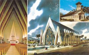 Waikiki Hawaii~St Augustine~World Famous~1960 Postcard