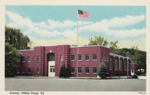 CLIFTON FORGE, Virginia, 1930-40s; Armory
