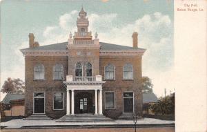 Baton Rouge Louisiana~City Hall~Pillar Porch~1908 Postcard