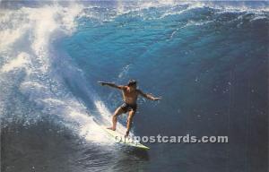 Riding the Big Winter Surf Hawaii, HI, USA Surfing Unused
