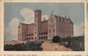 St. Patrick's College, Manly, Near Sydney, Australia, early postcard, unused