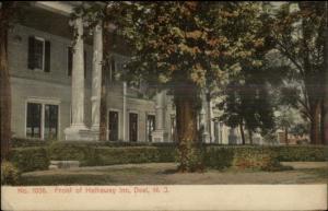 Deal NJ Front of Hathaway Inn c1910 Postcard