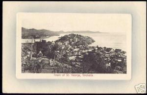grenada, St. GEORGE, Town Panorama (ca. 1910)