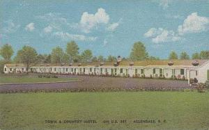 South Carolina Allendale Town & Country Hotel