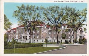 Iowa Cedar Falls Old Peoples Home 1931