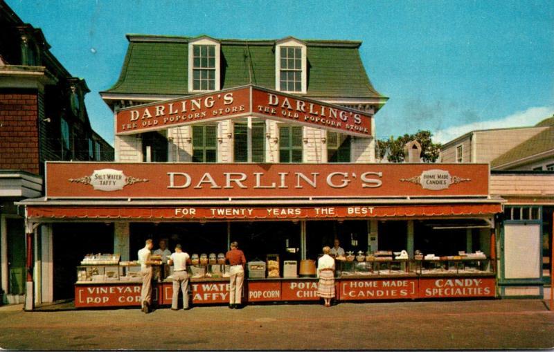 Massachusetts Martha's Vineyard Darling's Store 1956