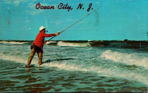 New Jersey Ocean City Surf Fishing 1975