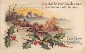 New Year, Ellen H Clapsaddle 1917