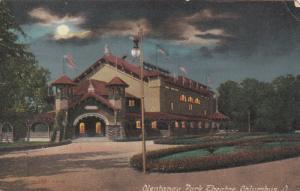 COLUMBUS, Ohio, 00-10s; Olentangy Park Theatre at Night