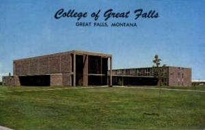 College of Great Falls Great Falls MT Unused