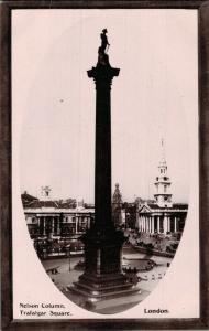 UK London Nelson Column Trafalgar Square 02.08