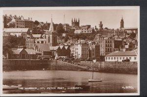 Channel Islands Postcard - The Harbour, St Peter Port, Guernsey  DC699