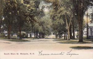 South Main Street Walpole New Hampshire 1908