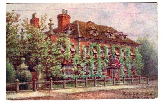 Miss Marie Corelli`s House, Stratford on Avon, England