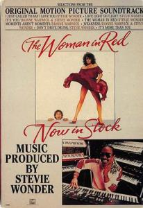 The Woman in Red Movie Poster Postcard