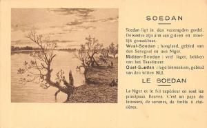 Sudan, Soedan, Le Soedan, Le Niger et le Nil superieure... Postcard