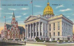 New Jersey Paterson Passaic County Court House And Annex