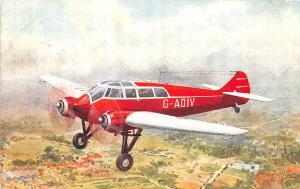 Monsopar S. T. 25 Jubilee Model Two Signed C. T. Howard Postcard
