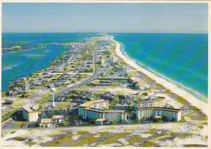 Florida Santa Rosa Island Aerial Panoramic View Of Santa Rose Island Looking ...