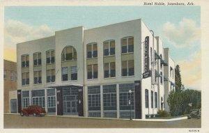 JONESBORO, Arkansas, 1930-40s; Hotel Noble