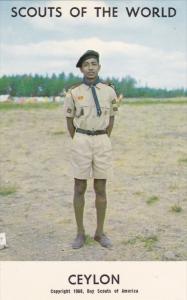 SRI LANKA, Ceylon, 1940-1960's; Scouts Of The World