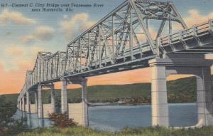 HUNTSVILLE , Alabama , 30-40s ; Clement C. Clay Bridge