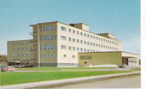 Exterior, Hopital des Sept-iles,  Quebec,  Canada,   40-60s