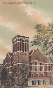 REGINA , Saskatchewan , Canada , 1900-10s ; New Methodist Church