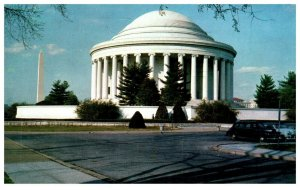 1950's Jefferson Memorial Washington D.C. PC1987