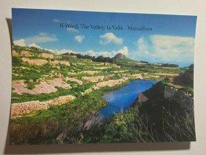UNUSED PICTURE POSTCARD - GOZO MALTA  THE VALLEY MARSALFORN   (KK1858)