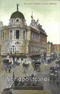 New Giety Theatre, Strand London UK, England, Great Britain Unused
