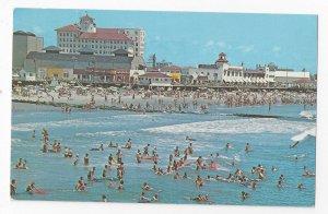 Ocean City NJ Panorama Jetty Flanders Hotel Vintage Jack Freeman Postcard