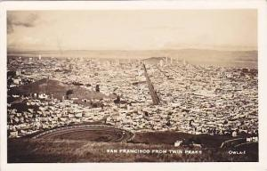 RP, San Francisco From Twin Peaks, San Francisco, California, 1920-1940s