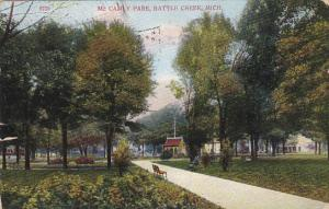 BATTLE CREEK, Michigan, PU-1909; Mc Camly Park