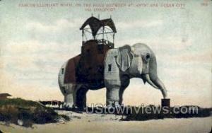 Elephant Hotel Atlantic City NJ Unused