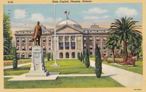 Arizona Phoenix State Capitol Building 1950 Curteich