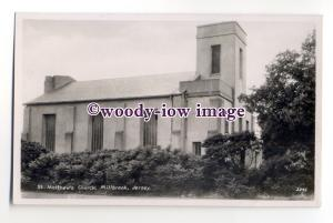 tq2013 - Jersey - St. Matthew's Church in Milbrook - Postcard