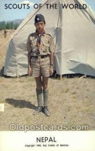 Nepal Boy Scouts of America, Scouting Copyright 1968 Unused