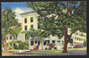 Hotel Deermont St Petersburg Florida Unused c1948