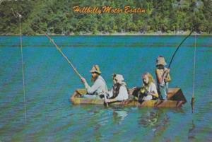 Humour Hillbilly Motor Boatin Fishing