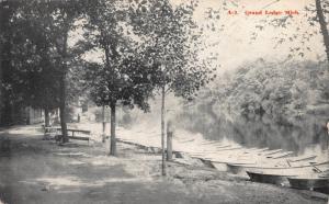 Grand Ledge, Michigan, Early Postcard, Unused