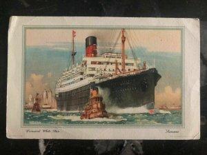 Mint Canada Picture Postcard Boat Cunard White Star LTD
