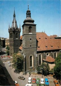 Praha goticka 12x17cm card Czech R. Church of St. Henry