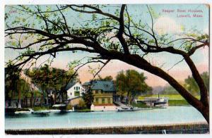 Vesper Boat House, Lowell Mass